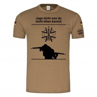WDD BW Tropen Scharfschütze Sniper Headshot Militär BW Tropenshirt #26103