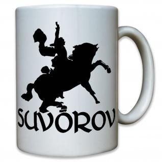 Suvorov Alexander Suworow russischer Generalissimus Wassiljewitsch Tasse #12173