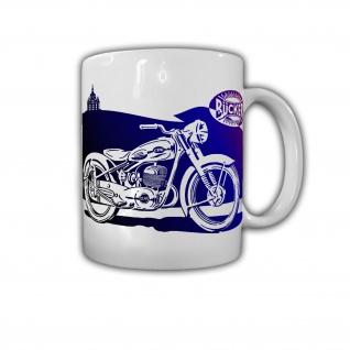 Bücker Germany Deutschland Oldtimer Motorrad Vintage - Tasse #26780