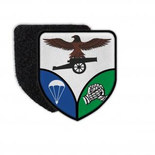 Patch LLArtBttr 9 Luftlande Artilleriebatterie 9 AMF Bundeswehr Wappen #34192