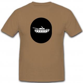 Panzer Abzeichen NVA DDR Emblem Wappen - T Shirt #7906