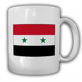 Tasse Syrien Fahne Arabische Republik Flagge Kaffee Becher #13932