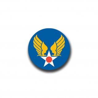 Aufkleber/Sticker US Army Air Forces USAAF Luft AAF Streitkraft 7x7cm A825 - Vorschau