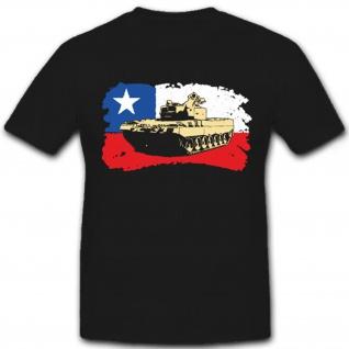 Chile Leopard 2 A4 CHL Panzer Tank leopard Ejército de Chile - T Shirt #6946