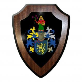 Wappenschild / Wandschild / Wappen - Familie Familienwappen #10183 w