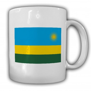 Republik Ruanda Fahne Flagge Kaffee Becher Tasse #13867