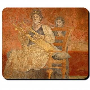 Boscoreale Rom Römisch 3 Jahrhundert Caesar Italien Wandmalerei Mauspad #16130