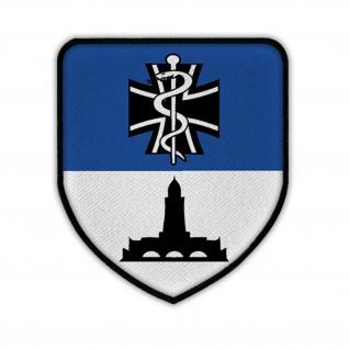 Patch Sanitätszentrum Bad Frankenhausen SanZ Bundeswehr Kaserne Wappen #15466
