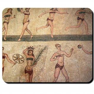 Römische Frauen Römisches Reich Wandmalerei Italien Sizilien Mauspad #16132