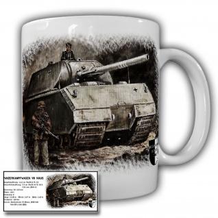 Tasse Lukas Wirp Panzer Maus Panzerkampfwagen VIII Berlin Gemälde Bild #23522