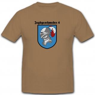 JG4 - Jagdgeschwader 4 Militär Luftwaffe - T Shirt #11176