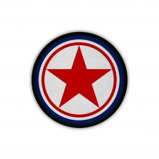 Patch / Aufnäher - Nordkorea Air Force Army Wappen Roundel #19226