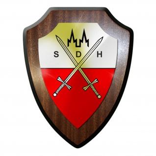 Wappenschild / Wandschild / Wappen - Stammdienststelle Heeres Bundeswehr #8416