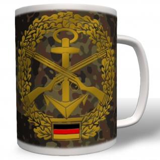 Marinesicherung Abzeichen Bundeswehr Bw Tasse #1959