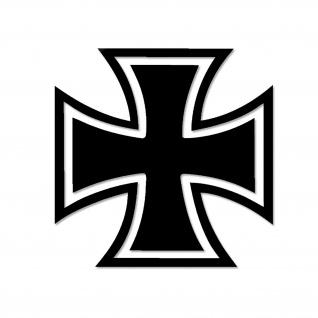 Eisernes Kreuz Bundeswehr Aufkleber Sticker 15x15cm#A5480