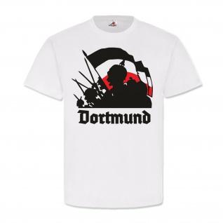 Dortmund WK Wilhelm Pickelhaube Schwarz Weiss Rot Fahne Deutschland #25645