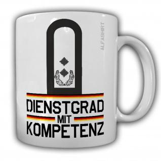 Tasse Oberstleutnant Dienstgrad Bundeswehr Oberslt Militär Kaffee Becher #20717