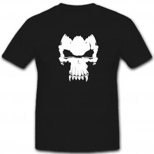 Monster Totenkopf Schädel Skull - T Shirt #4368