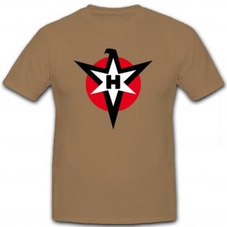 Henschel Logo Flugzeug-Werke Flugzeug Maschinen Herstellung - T Shirt #8681