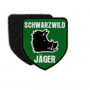 Patch Schwarzwild Jäger Wildschwein Keiler Sauen Schwarzkittel Klett #36558