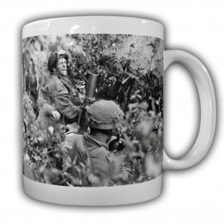 Tasse US Versteck Kaffebecher Mörser Mortar 60mm Militär Soldaten Schutz#22209