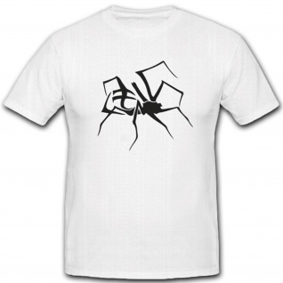 Spider Spinne Phobie Angst Halloween Erschrecken Fun Humor Spaß - T Shirt #2173