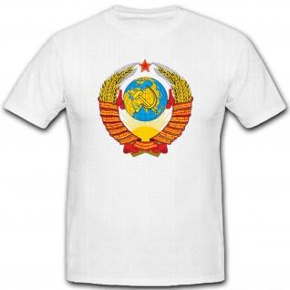Russia Russland Vielvölkerstaat Wappen Abzeichen Emblem - T Shirt #2647