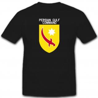 Persian Gulf Command Us Army Versorgung Einheit Militär Wk - T Shirt #3074