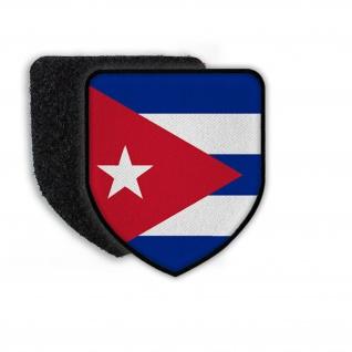 Patch Flagge von Kuba Wappen Flagge Landesflagge Fahne Landesfahne #21447