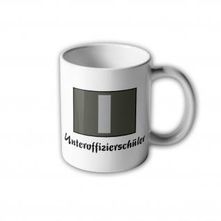 NVA UTV Unteroffizierschüler Tasse DDR Aufnäher Wappen Ostdeutschland #31016