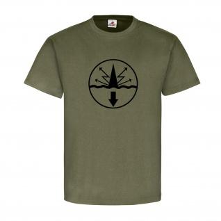 Volksmarine Funkmess NVA Marine Sonderausbildung DDR Abzeichen - T Shirt #18550