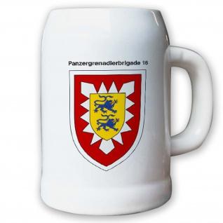 Krug / Bierkrug 0, 5l -26.Bierkrug Panzergrenadierbrigade 16 PzGrenBrig #12990