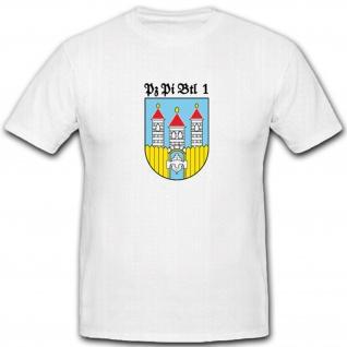 Deutschland Pzpibtl 1 Panzerpionierbataillon 1 Bundeswehr Wappen - T Shirt #4414