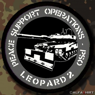 Patch / Aufnäher - Peace Support Operations PSO Leopard 2 Leo #12804