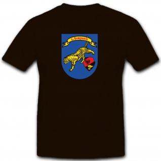 4Kp PzBtl 134 Bundeswehr Abzeichen Emblem Deutschland - T Shirt #6807