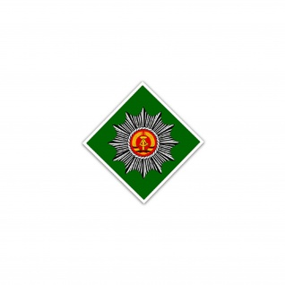 Aufkleber/Sticker Bereitschaft Volkspolizei VPB DDR Ostdeutschland 7x7cm #A2350