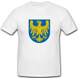 Schlesien Wappen Adler Abzeichen Emblem Symbol - T Shirt #2153