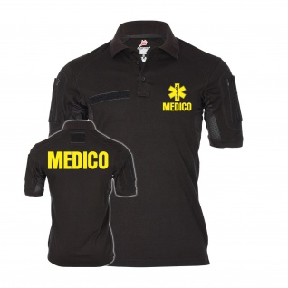 Tactical Poloshirt Medico Italia Arzt Italien Hemd Notarzt Medic Mailand #35432