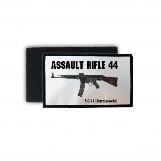 Patch Assault Rifle 44 Stg Sturmgewehr Gewehr Aufnäher Deutschland Klett #25721