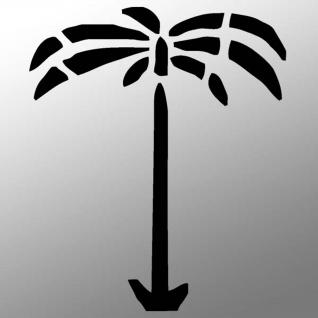 Afrikakorps Palme Aufkleber Sticker 10cm A033 - Vorschau