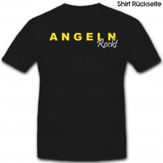 Angeln Rocht Fischen Angel Hobby Zeitvertreib - T Shirt #3881