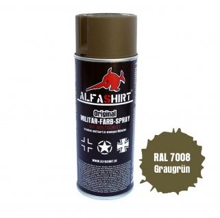 Farbspray RAL 7008 Graugrün Khakigrün Sandgelb Tarnung Farbe Lack #12693
