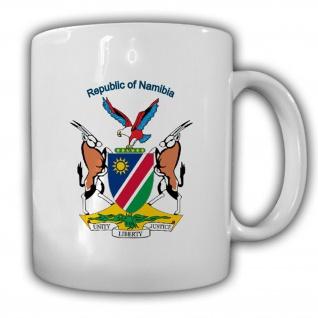 Republik Namibia Wappen Emblem Kaffee Becher Tasse #13818