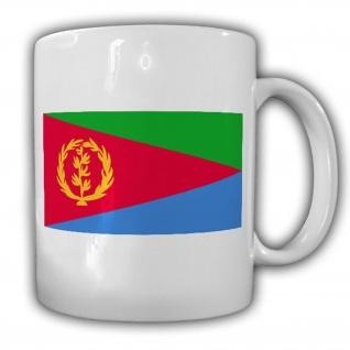 Eritrea Fahne Flagge Dawlat Iritriyya - Tasse Becher Kaffee #13470