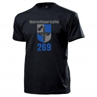 Heeresfliegerstaffel 269 Wappen Abzeichen Heeresflieger Bundeswehr T Shirt#13984