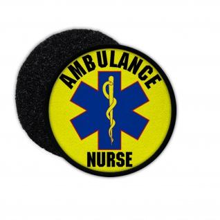 Patch Abulance Nurse Emergency Medical Services Netherlands Care #33681