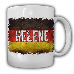 Tasse Helene Kaffeebecher Deutschland Bundesland Europa Heimat #22182