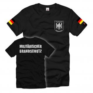 Militärischer Brandschutz MilBrdSch Bundeswehr-Feuerwehr BW BwFw T-Shirt#35472
