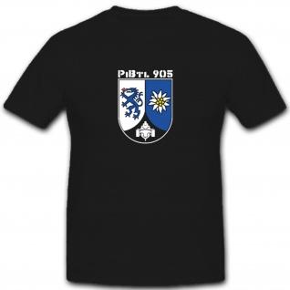 PiBtl 905 Pionierbataillon Pionier Edelweiss Wappen Abzeichen - T Shirt #5587