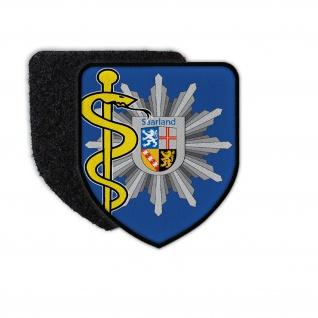Patch Polizeiarzt Saarland Polizei Abzeichen Arzt Doktor Mediziner #36220